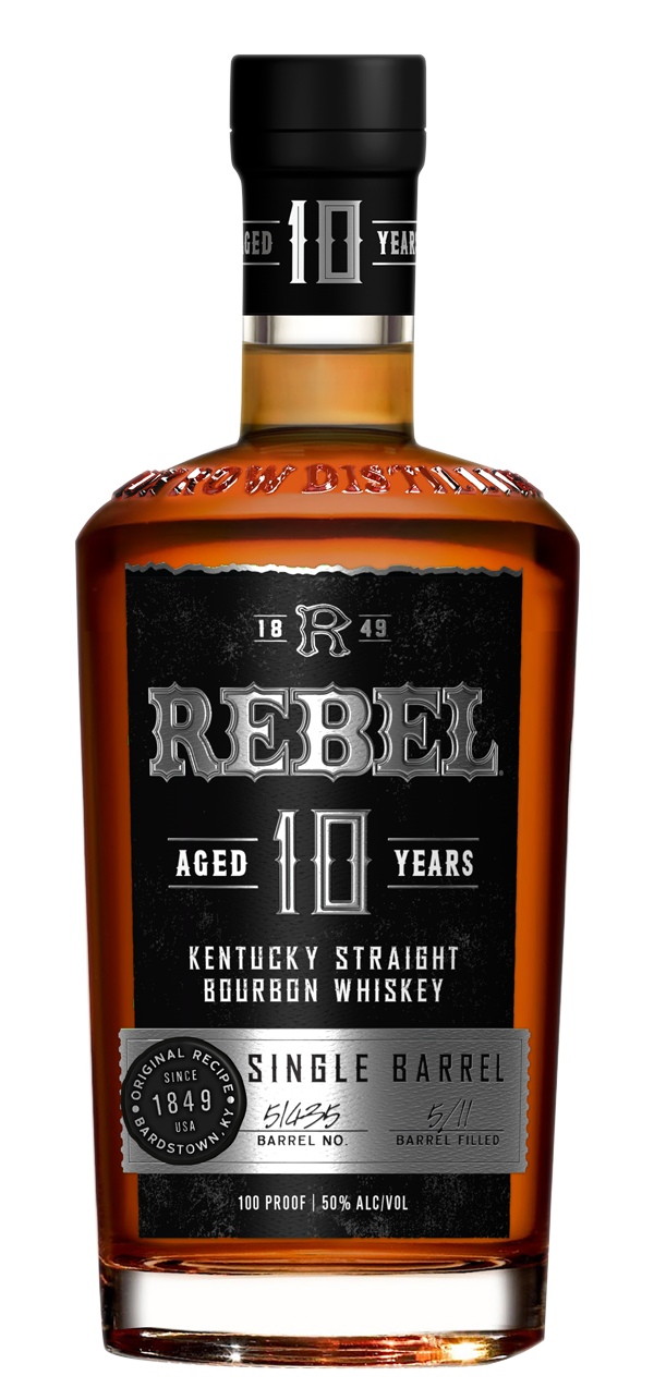 Rebel Yell 10yr Single Barrel Kentucky Straight Bourbon 750ml
