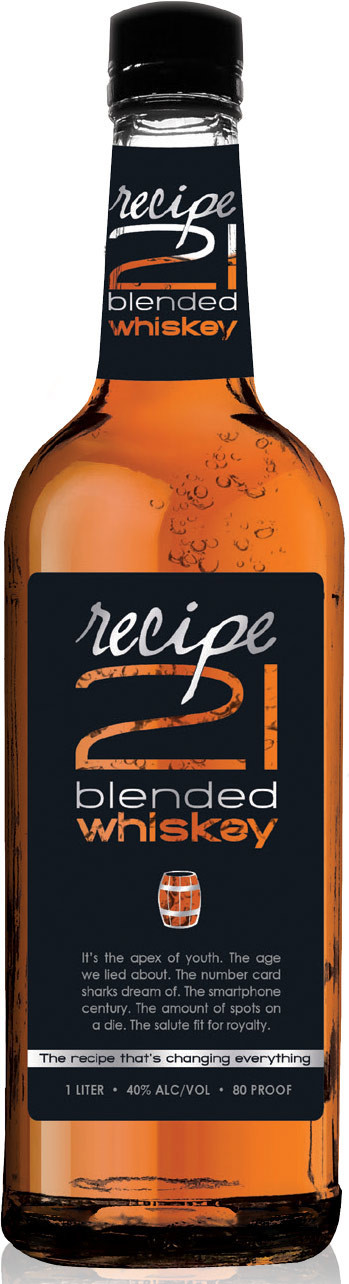 Recipe 21 Blended Whiskey 1L