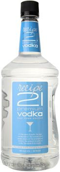 Recipe 21 Vodka 1.75 Ltr