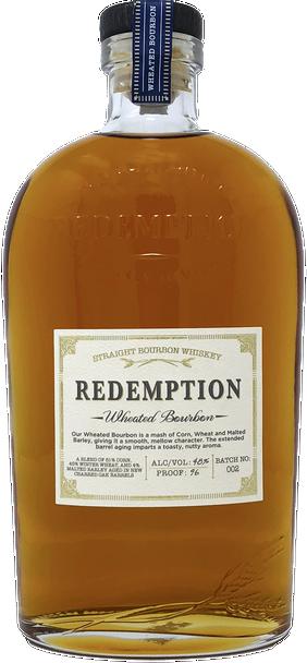 Redemption Wheated Straight Bourbon 750ml