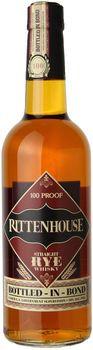 Rittenhouse Bottled In Bond Straight Rye 750ml