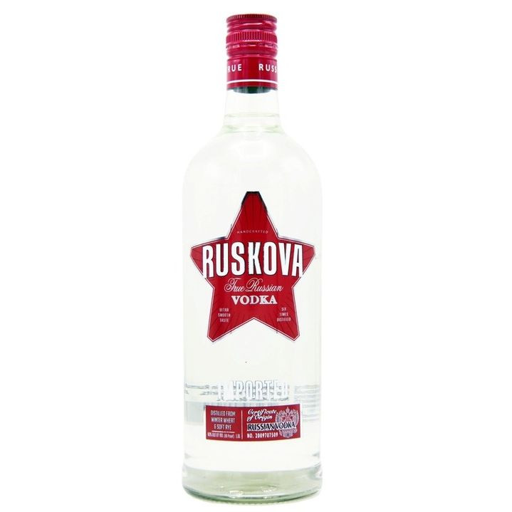 Ruskova Vodka Ltr