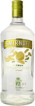 Smirnoff Citrus Flavored Vodka 1.75 Ltr