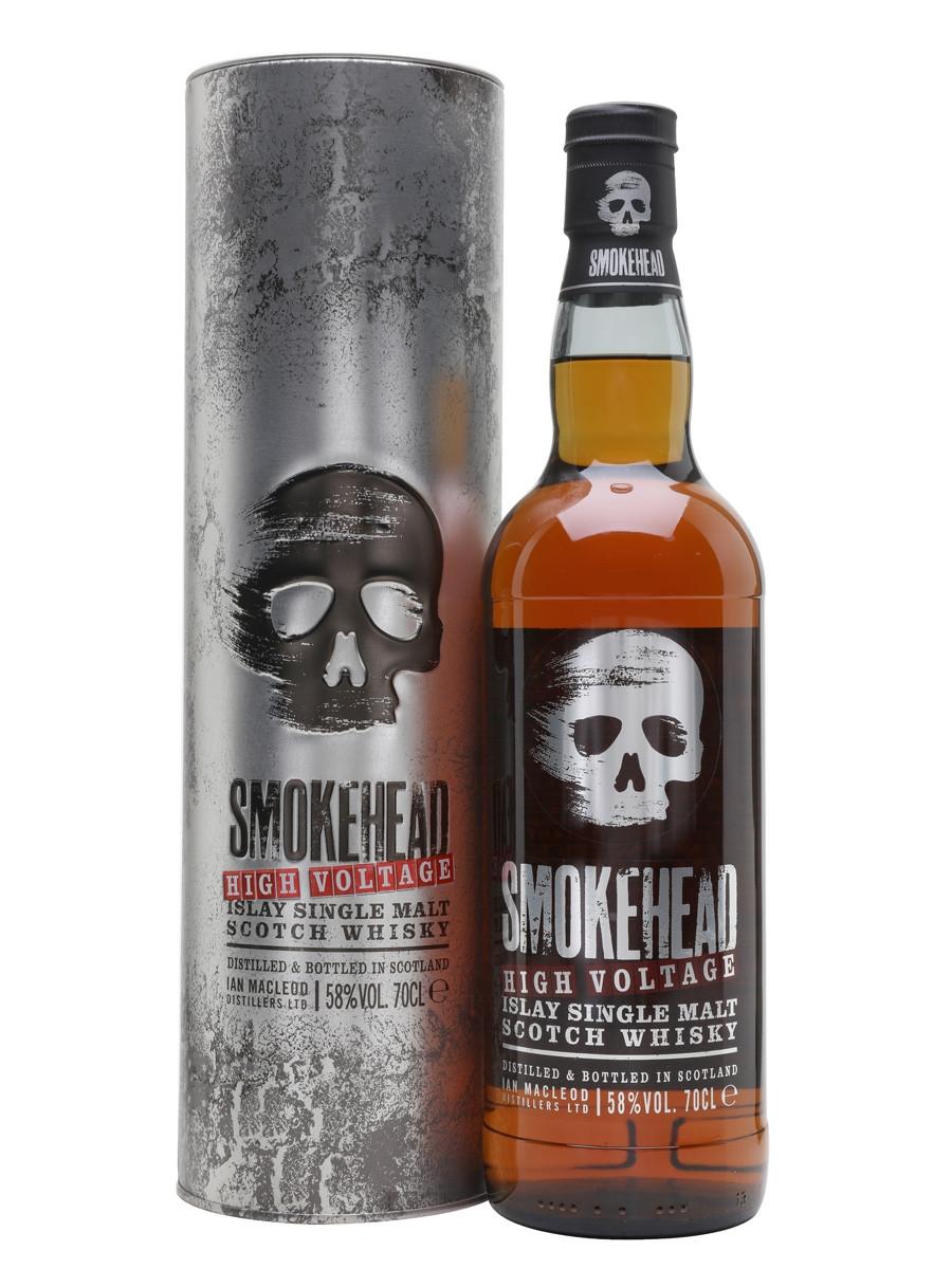 Smokehead High Voltage Cask Strength Single Malt Scotch 750ml
