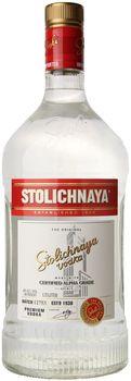 Stolichnaya Vodka 1.75 Ltr