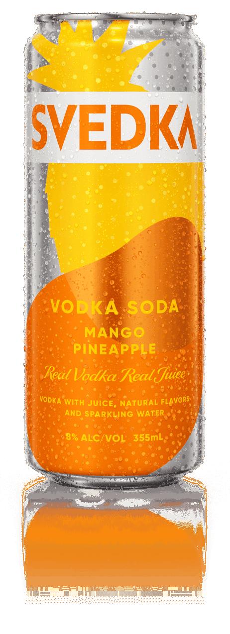 Svedka Mango Pineapple Vodka Soda Can 355ml