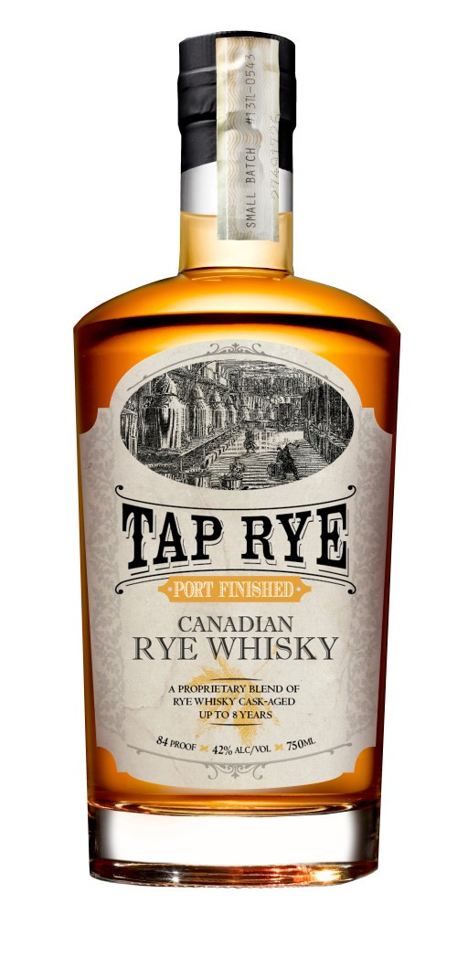 Tap Rye Port Finished Canadian Whisky 750ml