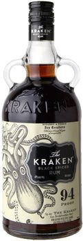 The Kraken Dark Spiced Rum 1L