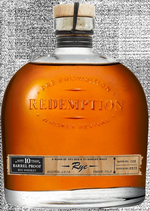 Redemption Rye 10Yr Barrel Proof 750ml