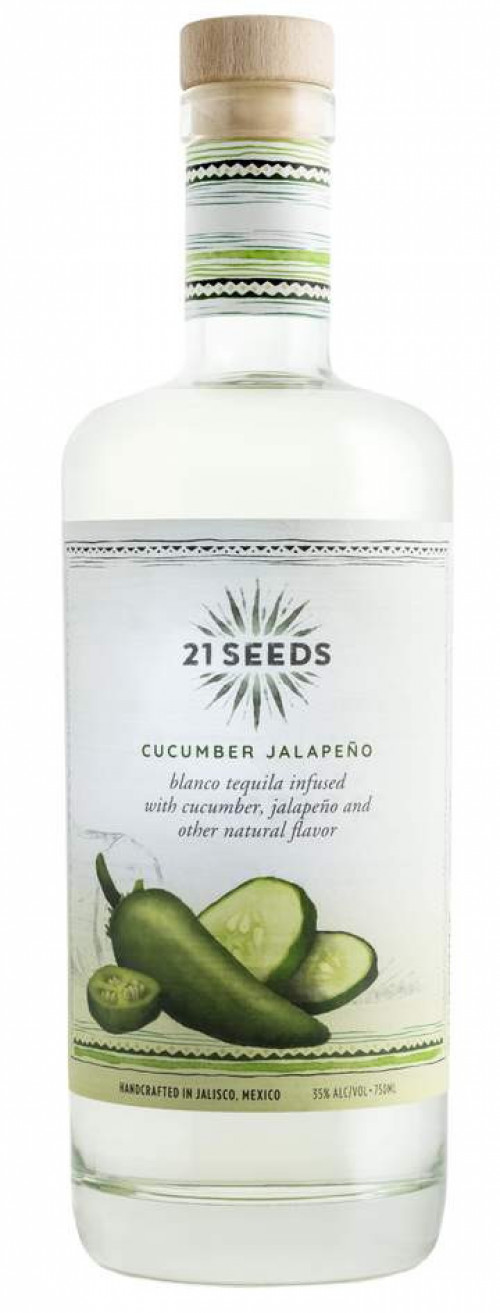 21 Seeds Cucumber-Jalapeno Flavored Tequila 750ml