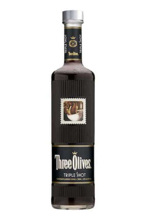 Three Olives Triple Shot Espresso Flavored Vodka 1L
