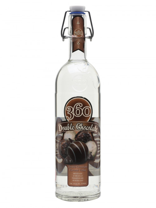 360 Double Chocolate Flavored Vodka 1L