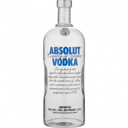 Absolut Vodka 1.75 Ltr