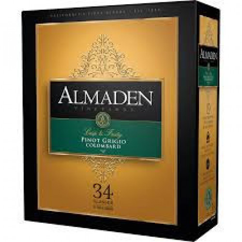 Almaden Pinot Grigio/Colombard 5 Ltr