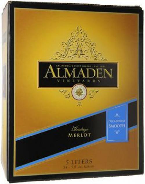 Almaden Merlot 5 Ltr