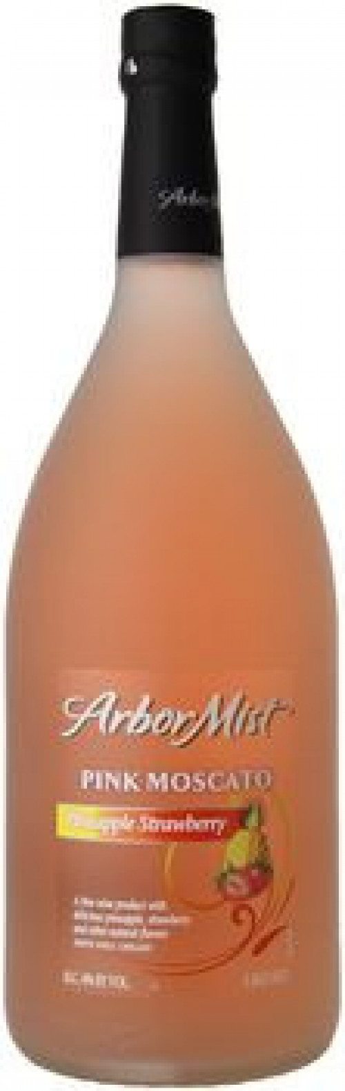 Arbor Mist Pineapple Strawberry Pink Moscato 1.5 Ltr