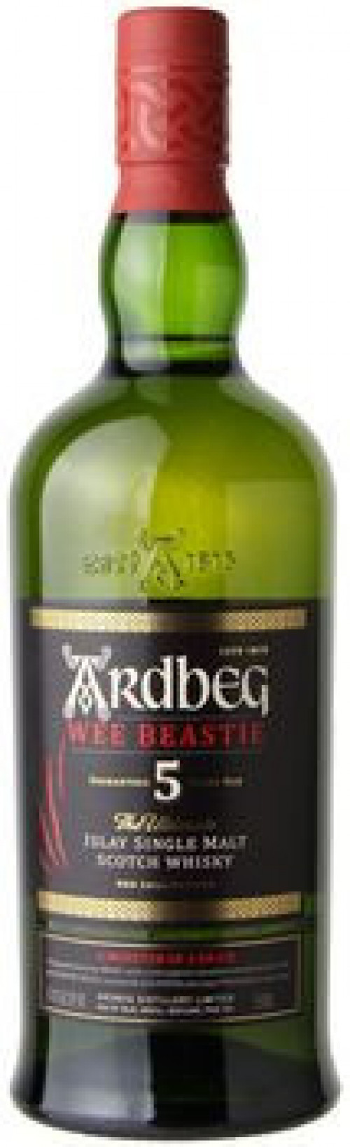 Ardbeg Wee Beastie 5yr Single Malt Scotch 750ml