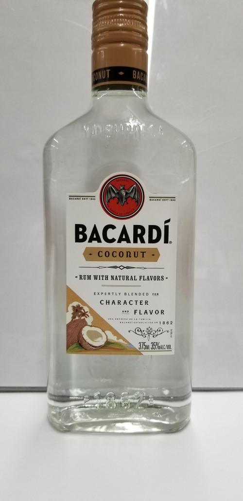Bacardi Coconut Flavored Rum 375ml
