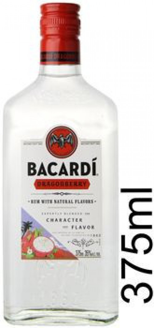 Bacardi Dragonberry Flavored Rum 375ml