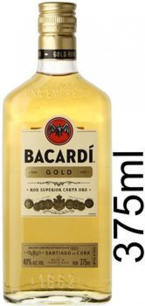 Bacardi Gold Rum 375ml