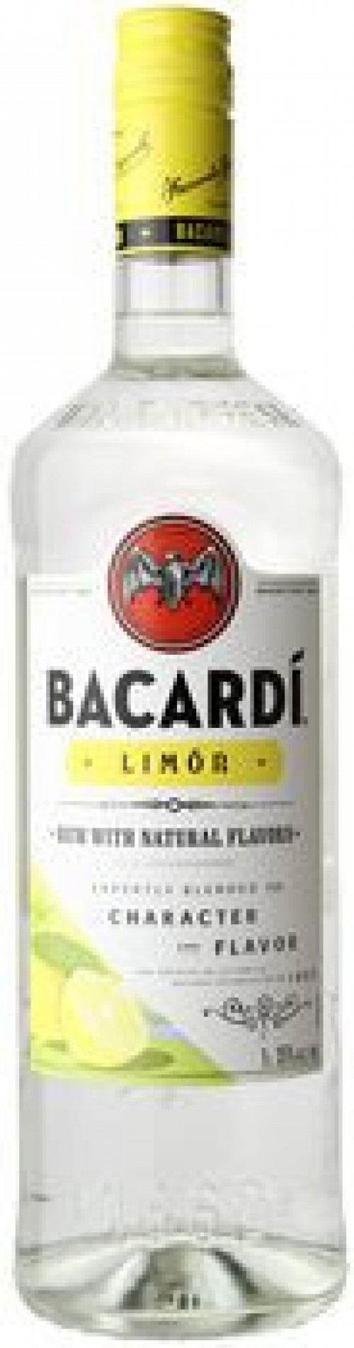 Bacardi Limon Flavored Rum 1L