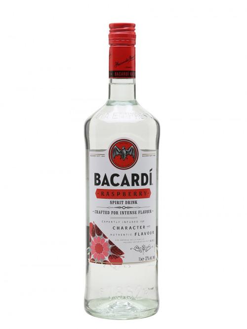 Bacardi Raspberry Flavored Rum 1L