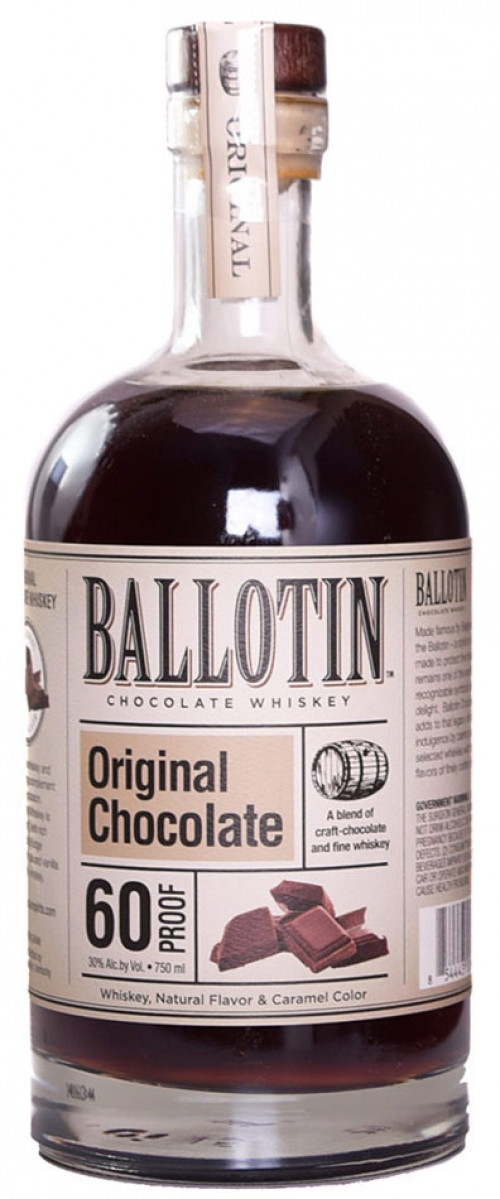 Ballotin Original Chocolate Whiskey 750ml