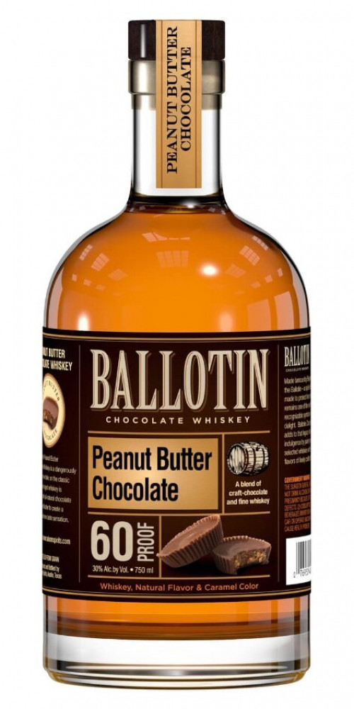 Ballotin  Peanut Butter Chocolate Flavored Whiskey 750ml