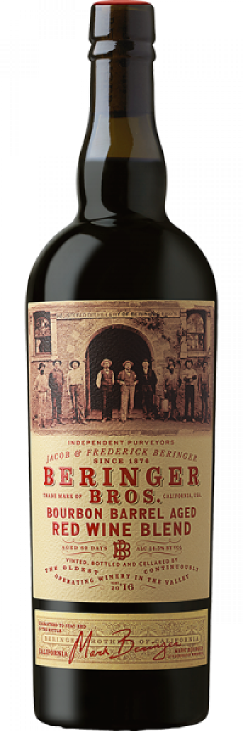 Beringer Bros. Bourbon Barrel Finished Red Blend 750ml