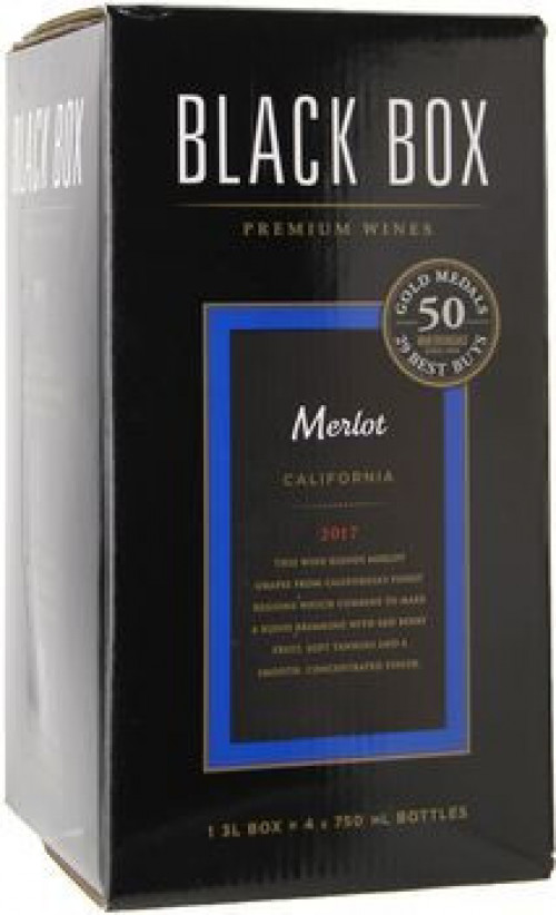 Black Box Merlot 3 Ltr