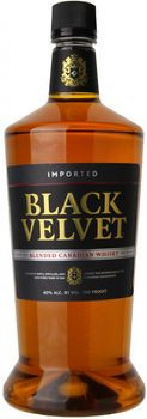 Black Velvet Canadian Whisky 1.75 Ltr