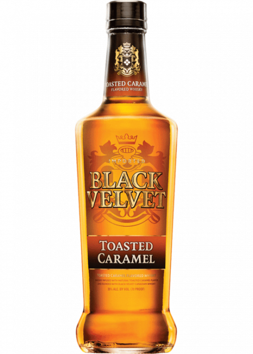 Black Velvet Toasted Caramel Flavored Whiskey 750ml