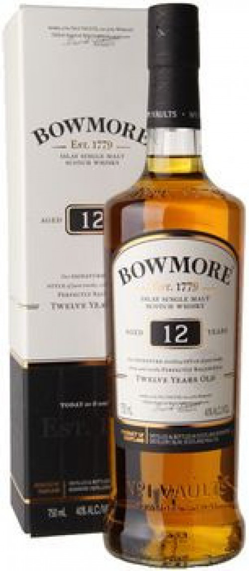Bowmore 12yr Single Malt Scotch 750ml