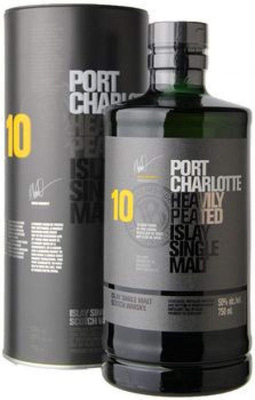 Bruichladdich Port Charlotte 10yr Single Malt Scotch 750ml
