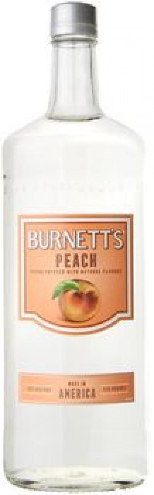 Burnett's Peach Flavored Vodka 1L