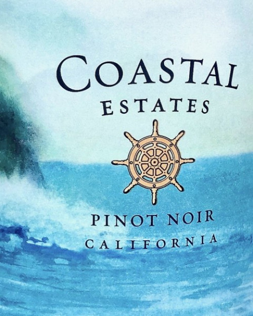 Coastal Estates Pinot Noir By BV 750ml
