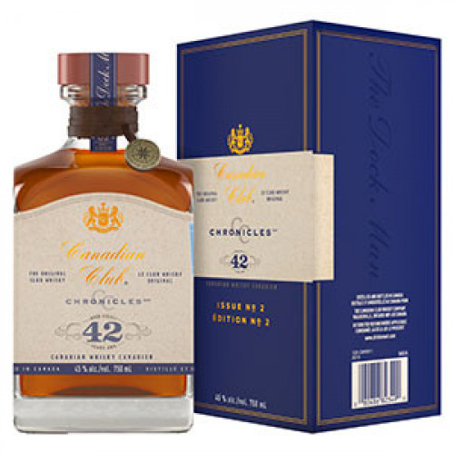 Canadian Club Chronicles 42yr Canadian Whisky 750ml