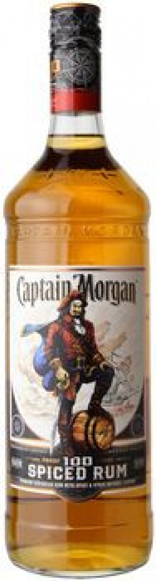 Captain Morgan Spiced Rum 100 Proof 750ml