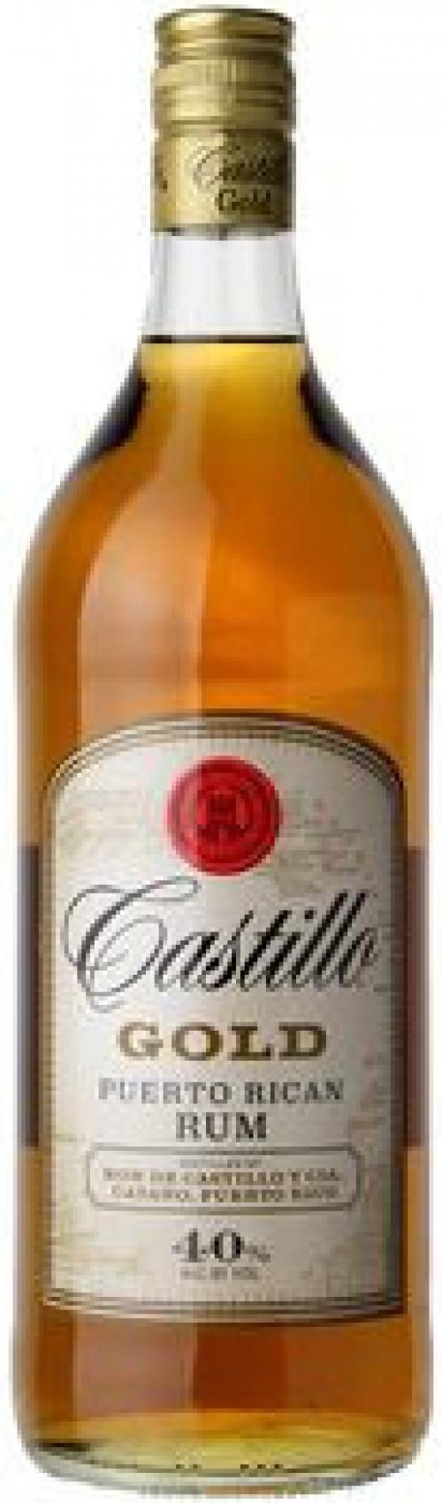 Castillo Gold Rum 1L