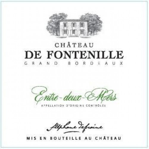 Chateau De Fontenille Bordeaux Blanc 750ml