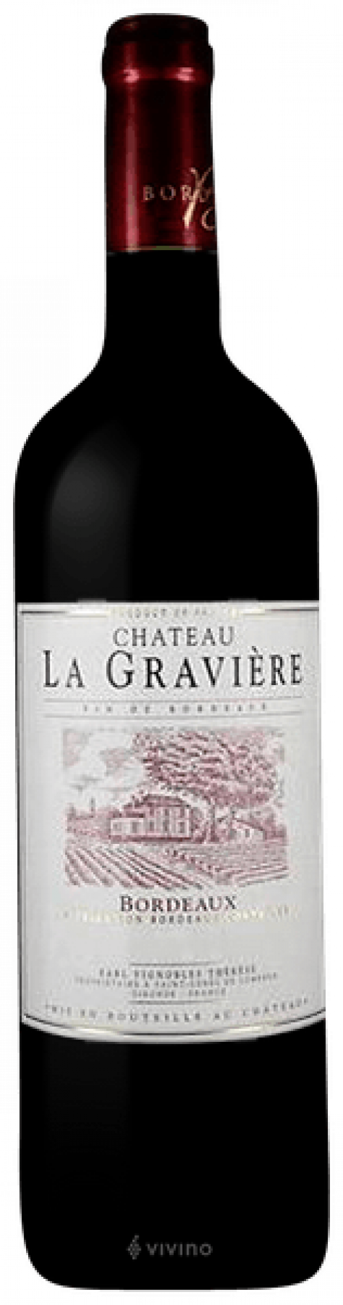Chateau La Graviere Bordeaux 750ml