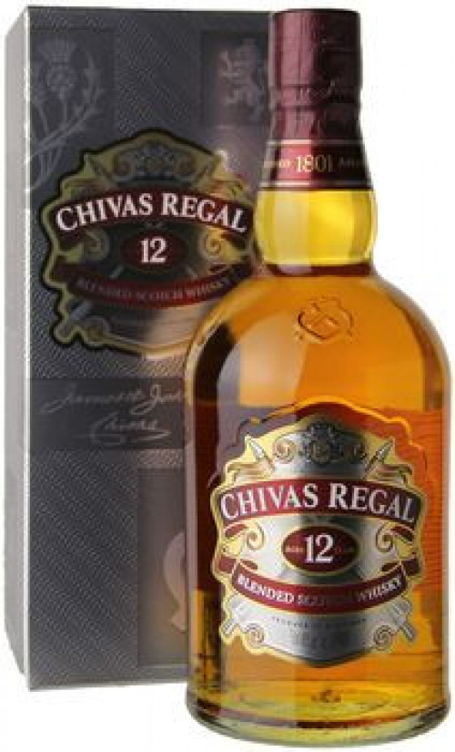 Chivas Regal 12yr Blended Scotch 750ml