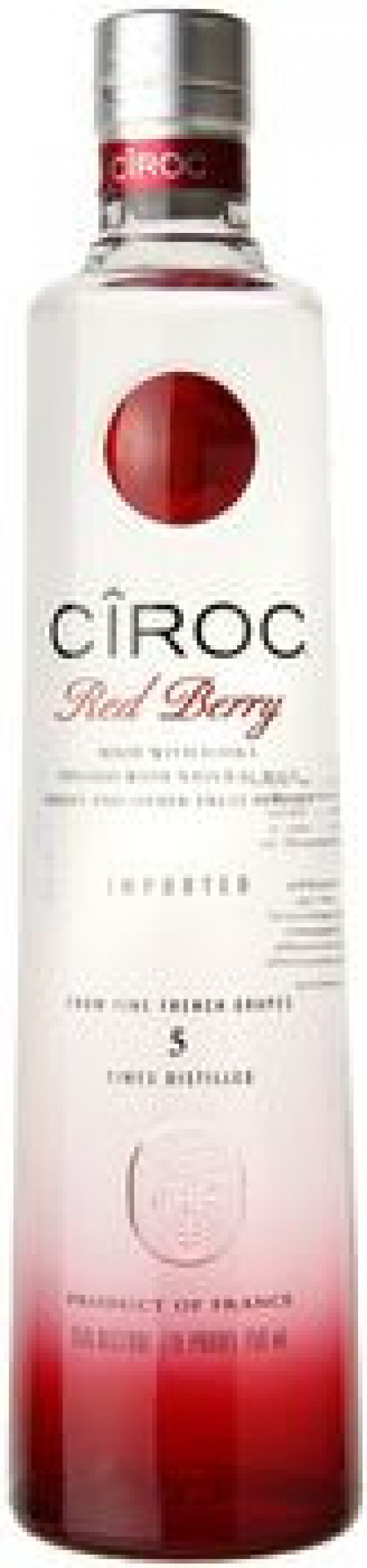 Ciroc Red Berry Flavored Vodka 375ml