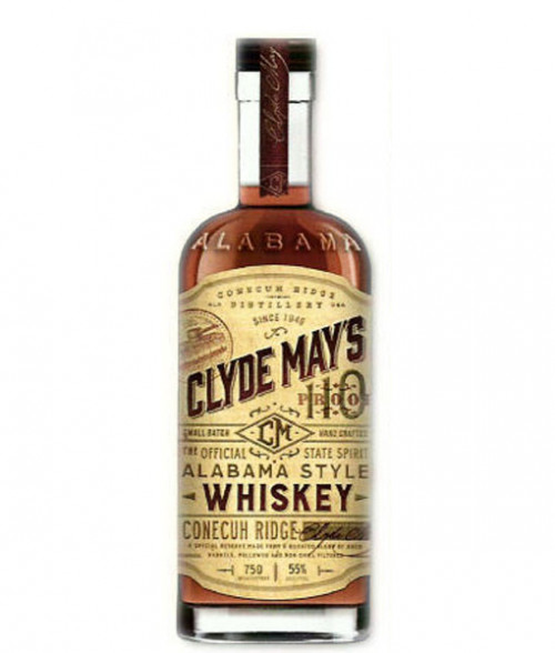 Clyde Mays Alabama Style Whiskey 110 Proof 750ml