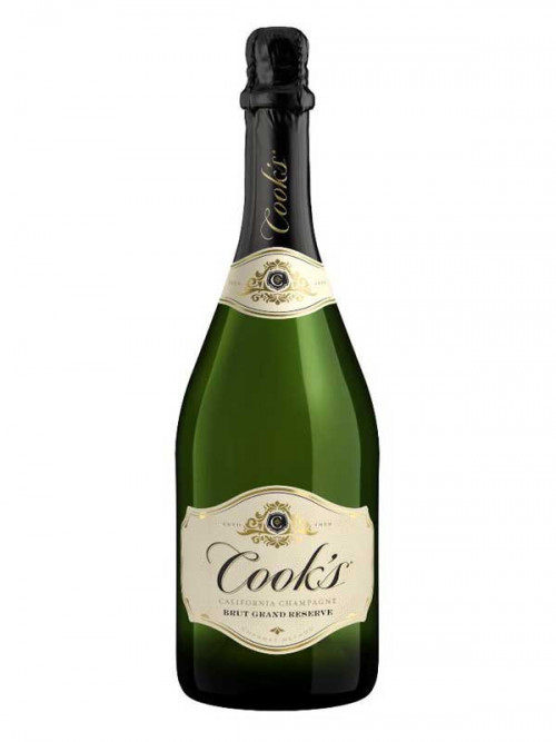 Cooks Brut Grand Reserve California Champagne 750ml