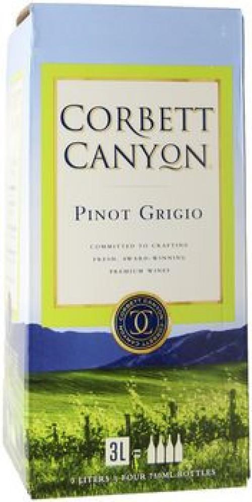 Corbett Canyon Pinot Grigio 3 Ltr