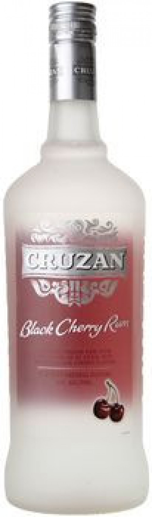 Cruzan Black Cherry Flavored Rum 1L