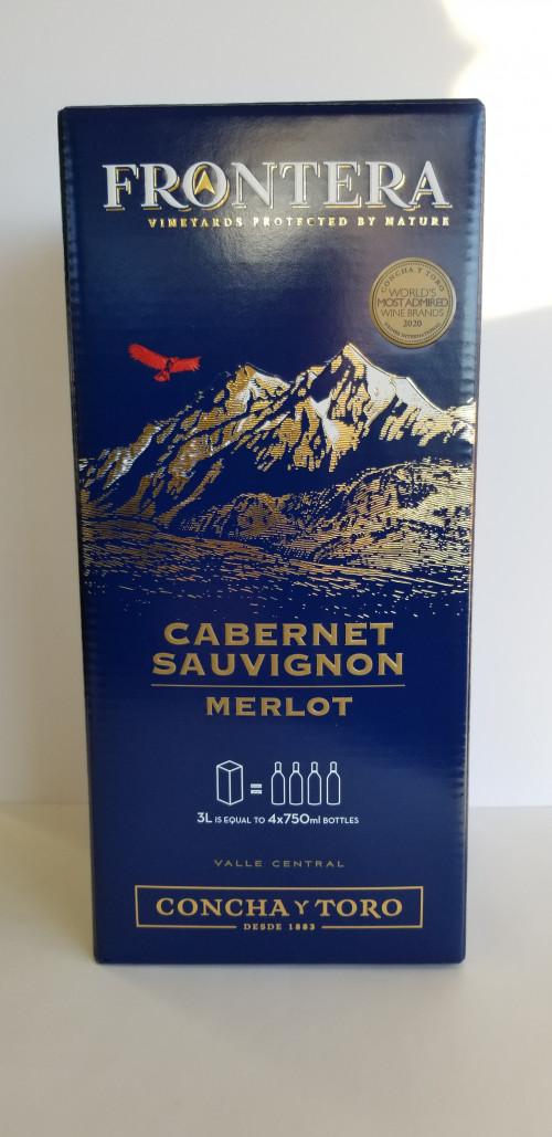 Frontera Cabernet- Merlot 3Lt BIB