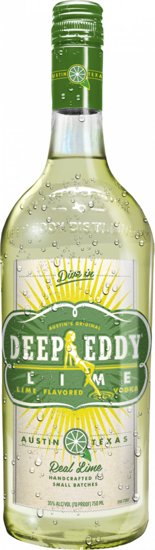 Deep Eddy Lime Flavored Vodka 1L
