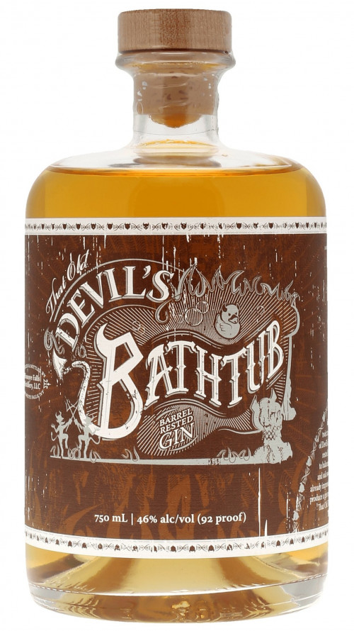 Devil's Bathtub Barrel Aged Gin 750ml